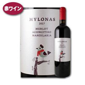 メルロー・アギオルギティコ・マンディラリア [2017] ミロナス・ワイナリーワイン 赤 ギリシャ アッティカ