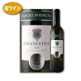 ワイン 白 グラシェヴィーナ セレクテッド 2019 イロチュキ ポドゥルミ クロアチア クヴァリテートノ ヴィノ 辛口