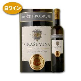 グラシェヴィーナ・プレミアム [2017] イロチュキ・ポドゥルミ (0174990317)クロアチアワイン 白ワイン