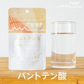 ターフ サプリメント パントテン酸 7.59g(253mg×30粒) ゆうパケット ビタミン サプリメント 栄養機能食品 サプリ 栄養補助