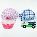 【2017年生産商品】日よけ付き 布帛帽子 夏用帽子 子供帽子 【50cm・52cmサイズ】【ネコポス便対応】