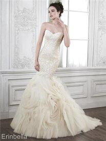 ウェディングドレス マーメイドライン マーメイド ロングドレス TW1711