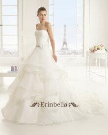 64985db363e5a  サイズオーダー ウェディングドレス プリンセスライン ふわふわスカート フリル 9A177