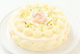 バタークリームケーキ 5号/バターケーキ/お祝い/誕生日/バースデーケーキ/売れ筋/おすすめ/エリヤ洋菓子店/スーパーセール対象10%割引