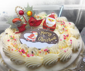 クリスマスケーキ/バタークリーム6号/クリスマス限定