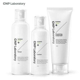 【 eroundmall/送料無料 】CNP チャアンドパク HOMME A-CARE メンズ スキンケアセット スキンケア/化粧水/乳液/クレンジング/韓国コスメ