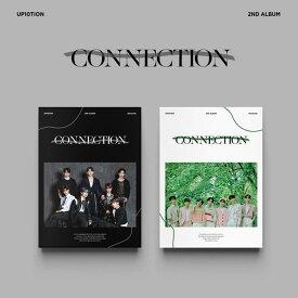 【`初回ポスターなし/海外配送】 UP10TION 正規2集アルバム 『CONNECTION』 2種SET