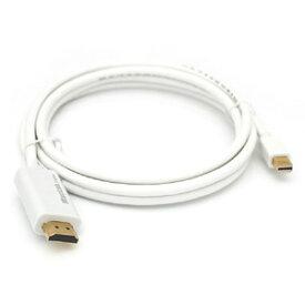 Apple/Surface pro/macbook用 Mini Displayport / Thunderbolt to HDMI 変換アダプタ 変換ケーブルqq