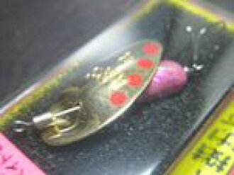 A are shell color 3.5 g # 01 (GAPI) AR SHELL Spinner 3.5 g <Smith>
