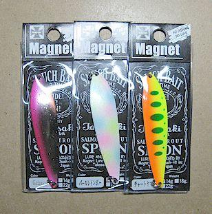 スナッチベイト22g スプーンSNUCH BAIT SPOON 22g <マグネット/MAGNET>【〇ゆうパケット便可】