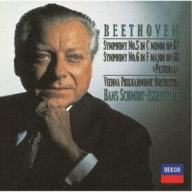 ハンス・シュミット=イッセルシュテット/ベートーヴェン:交響曲第5番≪運命≫・第6番≪田園≫ 【CD】