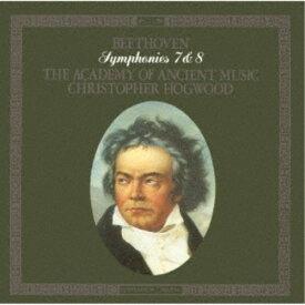 クリストファー・ホグウッド/ベートーヴェン:交響曲第7番・第8番 【CD】