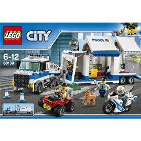 LEGO 60139 シティ ポリストラック司令本部 おもちゃ こども 子供 レゴ ブロック 6歳