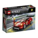 LEGO 75886 スピードチャンピオン フェラーリ 488 GT3 スクーデリア・コルサ おもちゃ こども 子供 レゴ ブロック 7歳