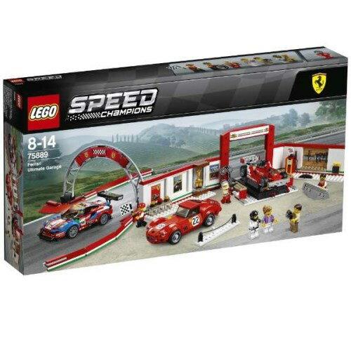 【送料無料】LEGO 75889 スピードチャンピオン フェラーリ・アルティメット・ガレージ
