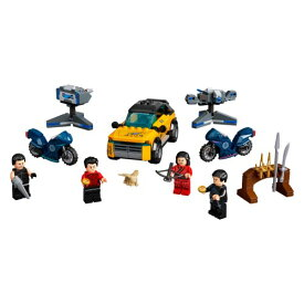 LEGO レゴ スーパー・ヒーローズ テン・リングスからの脱出 76176おもちゃ こども 子供 レゴ ブロック 7歳 その他マーベルキャラ