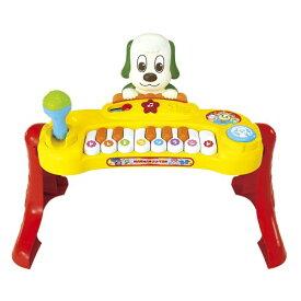 【送料無料】ワンワンとうーたん いっしょにコンサート♪ マイクもたいこも!ミュージックキーボード おもちゃ こども 子供 知育 勉強 1歳6ヶ月 いないいないばあっ!