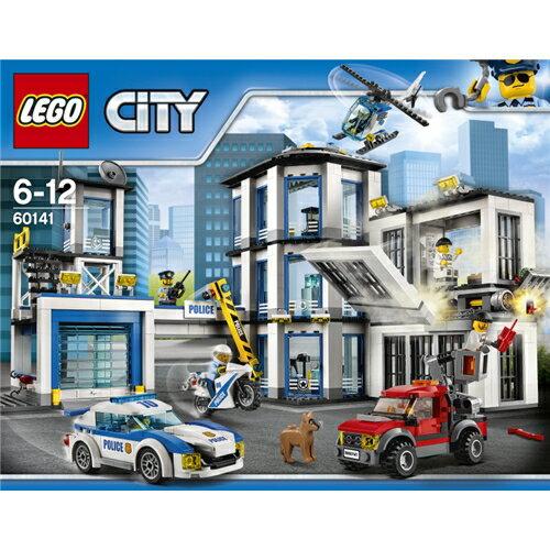 【送料無料】LEGO 60141 シティ ポリスステーション