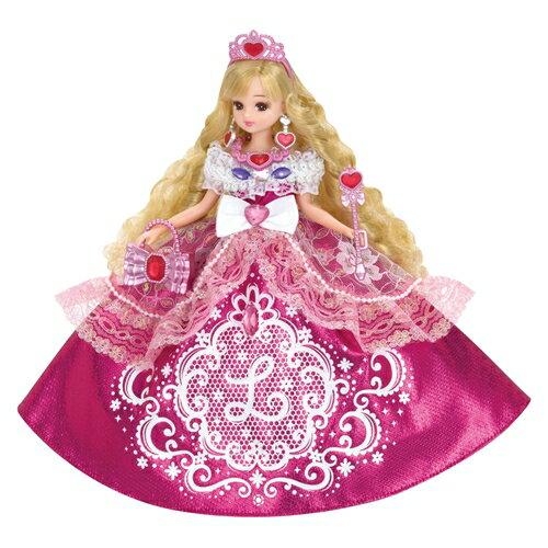 リカちゃん ゆめみるお姫さま ピンクグリッターリカちゃん おもちゃ こども 子供 女の子 人形遊び 3歳