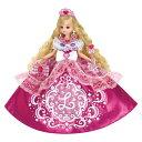 【送料無料】リカちゃん ゆめみるお姫さま ピンクグリッターリカちゃん おもちゃ こども 子供 女の子 人形遊び 3歳