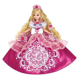ラッピング対応可◆リカちゃん ゆめみるお姫さま ピンクグリッターリカちゃん クリスマスプレゼント おもちゃ こども 子供 女の子 人形遊び 3歳