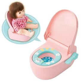 ぽぽちゃん ぽぽちゃんのおしゃべりトイレおもちゃ こども 子供 女の子 人形遊び 小物 2歳