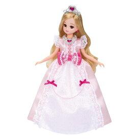リカちゃん LW-12 プリンセスピンクリボン おもちゃ こども 子供 女の子 人形遊び 洋服 3歳