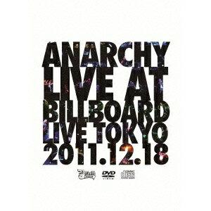 ANARCHY/LIVE AT BILLBOARD LIVE TOKYO 【DVD】