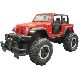 Jeep Wrangler Rubicon Sport (レッド)おもちゃ こども 子供 ラジコン 6歳