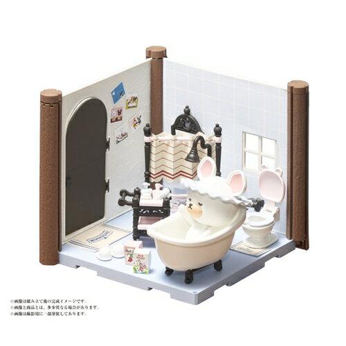 【送料無料】くまのがっこう ハコルーム バスルームセット