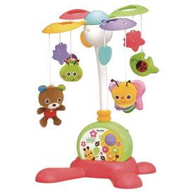 ●ラッピング指定可●やすらぎふわふわメリー クリスマスプレゼント おもちゃ こども 子供 知育 勉強 ベビー 0歳