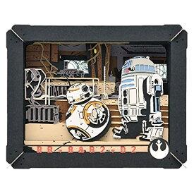 STAR WARS PAPER THEATER / BB-8 & R2-D2 PT-110おもちゃ こども 子供 工作