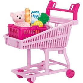 おかいものショッピングカート おもちゃ こども 子供 女の子 人形遊び 小物 3歳 リカちゃん