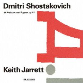 キース・ジャレット/ショスタコーヴィチ:24のプレリュードとフーガ (初回限定) 【CD】