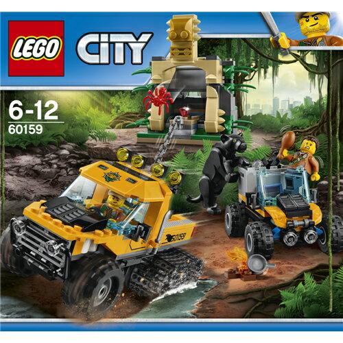 LEGO 60159 シティ ジャングル探検パワフルトラック