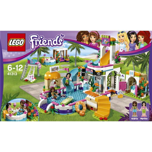 LEGO 41313 フレンズ ドキドキウォーターパーク おもちゃ こども 子供 レゴ ブロック クリスマス プレゼント 6歳
