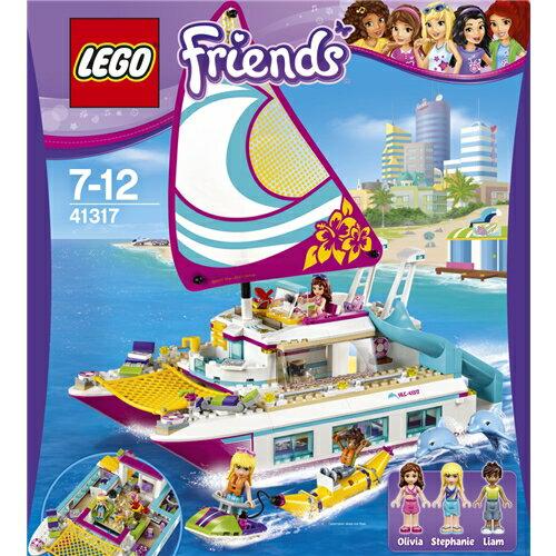 LEGO 41317 フレンズ ハートレイク ワクワクオーシャンクルーズ おもちゃ こども 子供 レゴ ブロック クリスマス プレゼント 7歳