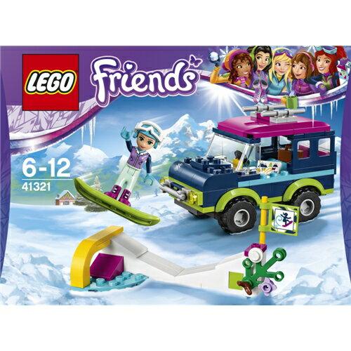 【送料無料】LEGO 41321 フレンズ スキーリゾート'スノーボードトリップ