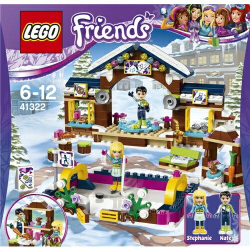 【送料無料】LEGO 41322 フレンズ スキーリゾート'スケートリンク