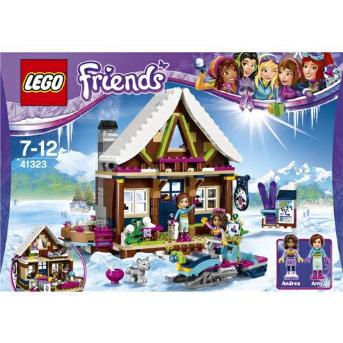 【送料無料】LEGO 41323 フレンズ スキーリゾート'スノーロッジ