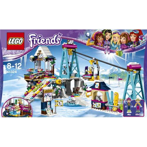 【送料無料】LEGO 41324 フレンズ ハートレイク キラキラスキーリゾート