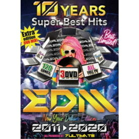 7ultimate/10 YEARS SUPER BEST HITS EDM 2011-2020 【DVD】