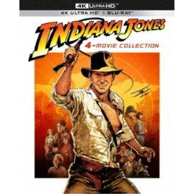 インディ・ジョーンズ 4ムービーコレクション 40th アニバーサリー・エディション UltraHD《UHD BD※専用プレーヤーが必要です》 【Blu-ray】