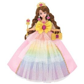 リカちゃん ゆめみるお姫さま レインボーファンタジアドレス おもちゃ こども 子供 女の子 人形遊び