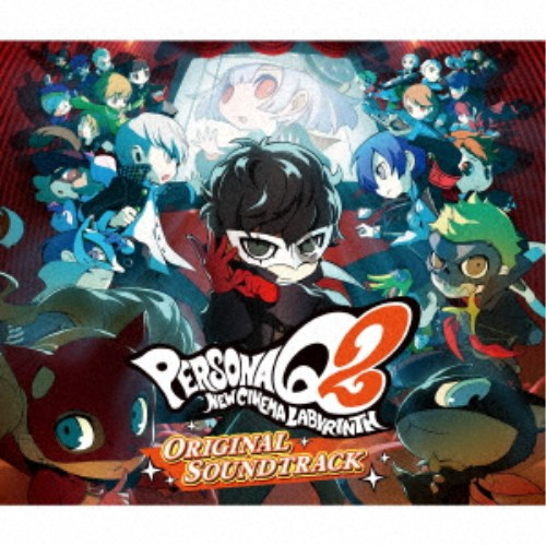 【送料無料】(ゲーム・ミュージック)/ペルソナQ2 ニュー シネマ ラビリンス オリジナル・サウンドトラック 【CD】