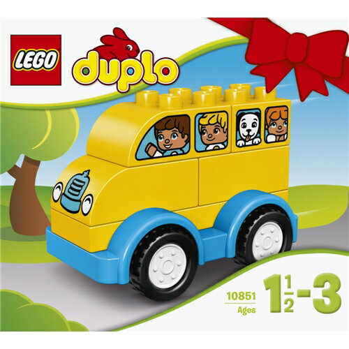 LEGO 10851 デュプロ はじめてのデュプロ バス