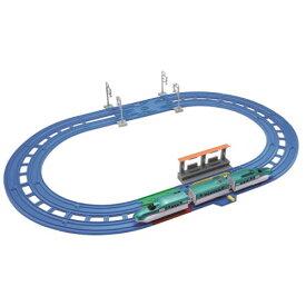 プラレール レーンがクロス!E5系新幹線はやぶさベーシックセット おもちゃ こども 子供 男の子 電車 3歳