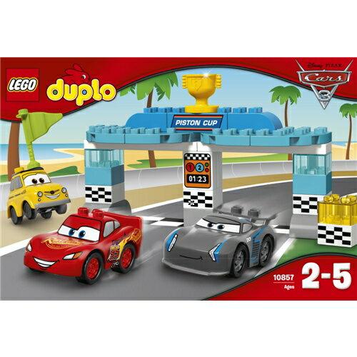【送料無料】LEGO 10857 デュプロ ピストンカップレース