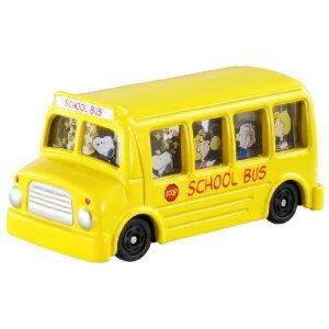 トミカ 154 スヌーピーバス おもちゃ こども 子供 男の子 ミニカー 車 くるま 3歳