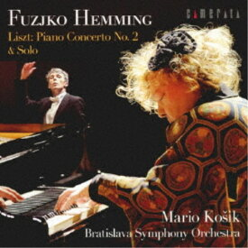 フジコ・ヘミング/リスト:ピアノ協奏曲 第2番&ソロ 【CD】